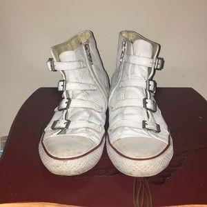 Ash virgin buckle shoes